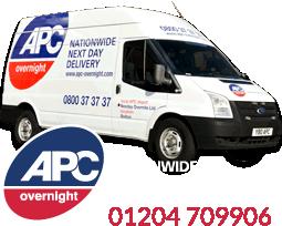Nexday Overnite APC Parcels Bolton